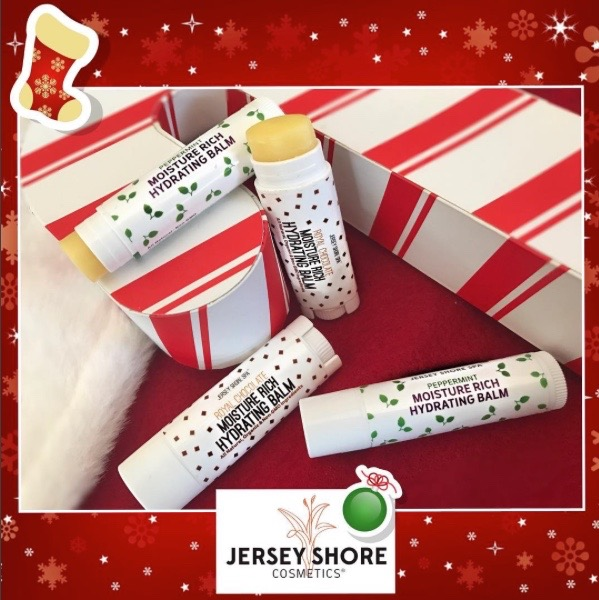 Jersey Shore Cosmetics Moisture Rich Peppermint and Royal Chocolate Hydrating Balms